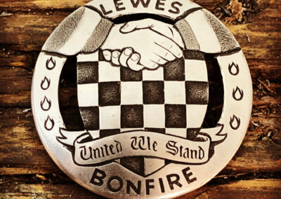 Lewes Bonfire Council Badge